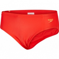 Speedo Essential Boys Logo Brief Red