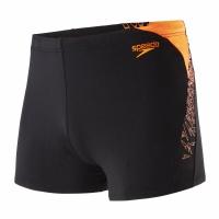 Speedo Boom Splice Aquashort Black/Orange