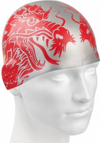 Mad Wave China Swim Cap