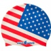 Mad Wave USA Swim Cap