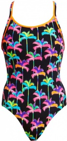 Funkita Palm Drive Diamond Back One Piece