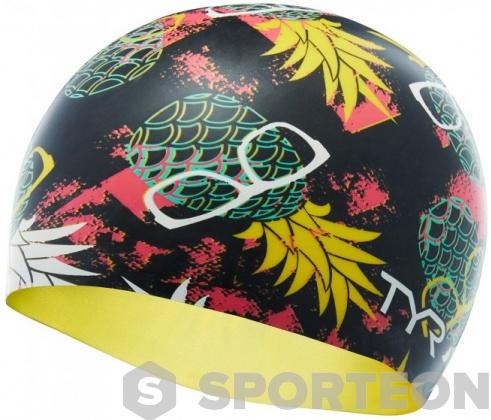 Tyr Pineapple Man Swim Cap
