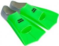 Mad Wave Short Training Fins Green