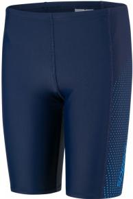 Speedo Gala Logo Panel Jammer Boy Navy/Brilliant Blue