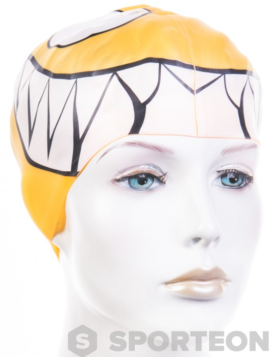 BornToSwim Shark Junior Swim Cap | Swimaholic.de