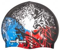 Badekappe Mad Wave-Silikon Czech