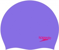 Speedo Plain Moulded Silicone Junior Cap
