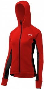 Tyr Female Victory Warm-Up Jacket Red/Black
