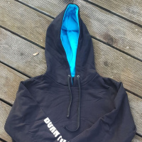 BornToSwim Sweatshirt Hoodie Black