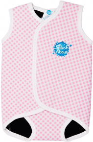 Splash About Baby Wrap Pink Cube
