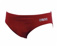 Arena Solid brief red